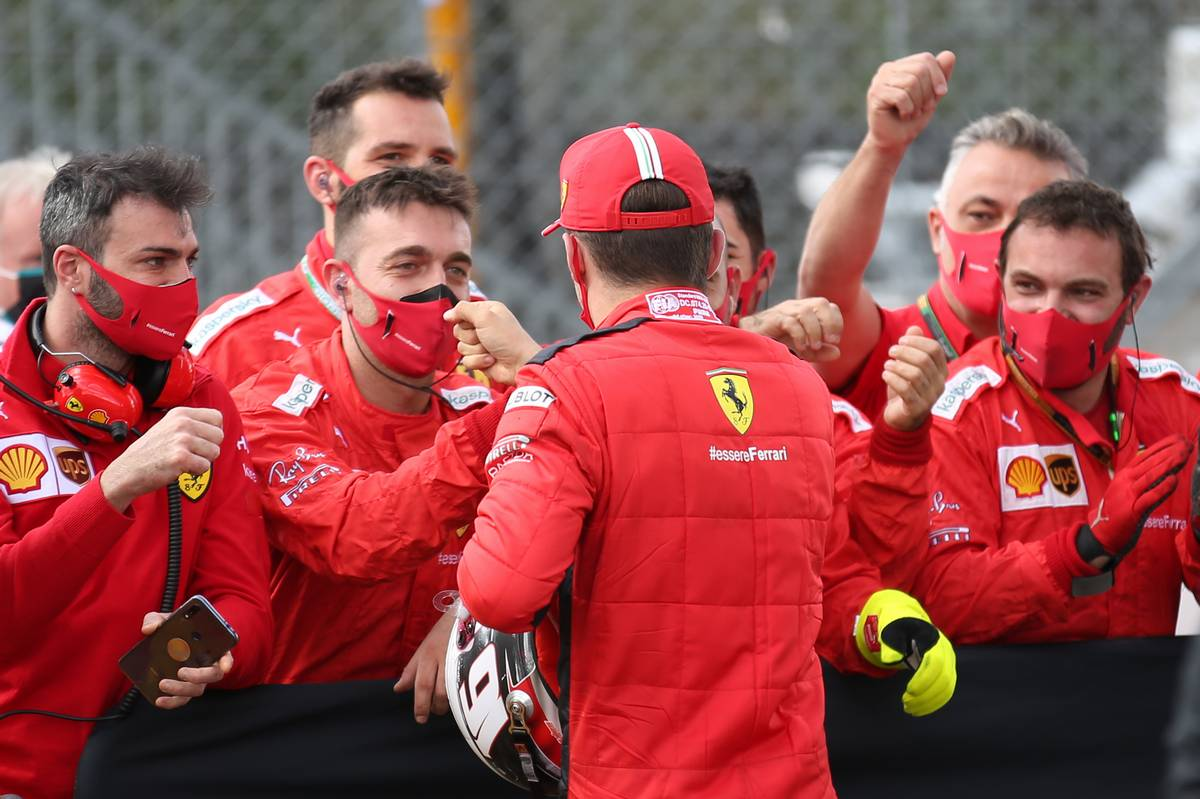 Charles Leclerc (MON) Ferrari SF1000. 02.08.2020. Formula 1 World Championship, Rd 4, British Grand Prix