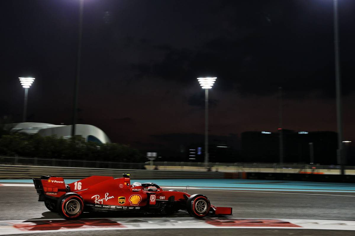 Charles Leclerc (MON) Ferrari SF1000. 12.12.2020. Formula 1 World Championship, Rd 17, Abu Dhabi Grand Prix