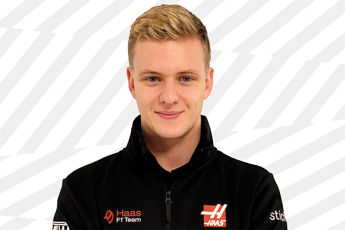 Mich Schumacher confirmed as a Haas F1 driver for 2021.