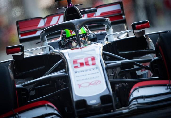 Mick Schumacher (GER) Haas VF-20 Test Driver. 11.12.2020