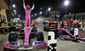 Perez takes maiden win after Mercedes pit stop disaster