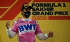 1st place Sergio Perez (MEX) Racing Point F1 Team RP19. 06.12.2020. Formula 1 World Championship, Rd 16, Sakhir Grand Prix