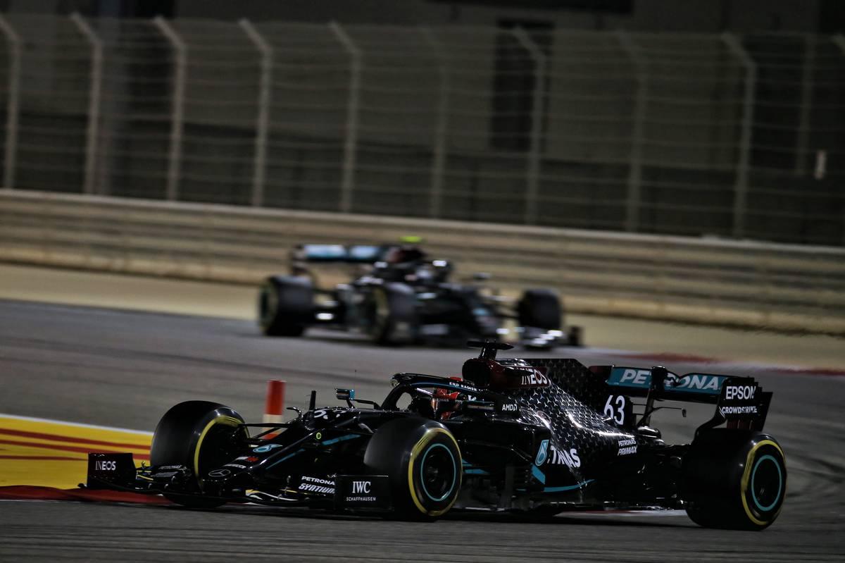 George Russell (GBR) Mercedes AMG F1 W11. 06.12.2020. Formula 1 World Championship, Rd 16, Sakhir Grand Prix