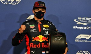 Verstappen thrilled to snatch pole at Abu Dhabi