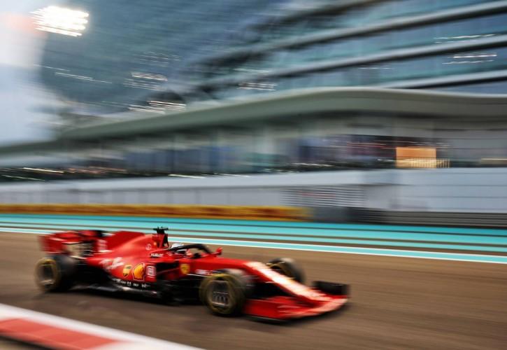 Sebastian Vettel (GER) Ferrari SF1000. 12.12.2020. Formula 1 World Championship, Rd 17, Abu Dhabi Grand Prix