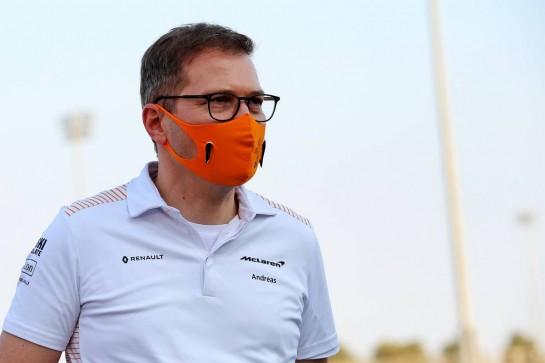 Andreas Seidl, McLaren Managing Director. 03.12.2020. Formula 1 World Championship, Rd 16, Sakhir Grand Prix, Sakhir, Bahrain, Preparation Day. - www.xpbimages.com, EMail: requests@xpbimages.com © Copyright: Batchelor / XPB Images