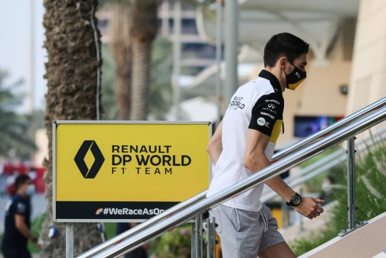 Esteban Ocon (FRA) Renault F1 Team. 03.12.2020. Formula 1 World Championship, Rd 16, Sakhir Grand Prix, Sakhir, Bahrain, Preparation Day. - www.xpbimages.com, EMail: requests@xpbimages.com © Copyright: Charniaux / XPB Images