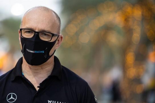 Simon Roberts (GBR) Williams Racing F1 Acting Team Principal. 03.12.2020. Formula 1 World Championship, Rd 16, Sakhir Grand Prix, Sakhir, Bahrain, Preparation Day. - www.xpbimages.com, EMail: requests@xpbimages.com © Copyright: Bearne / XPB Images