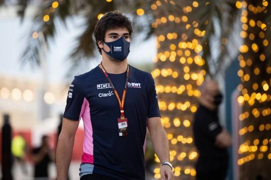 Lance Stroll (CDN) Racing Point F1 Team. 03.12.2020. Formula 1 World Championship, Rd 16, Sakhir Grand Prix, Sakhir, Bahrain, Preparation Day. - www.xpbimages.com, EMail: requests@xpbimages.com © Copyright: Bearne / XPB Images