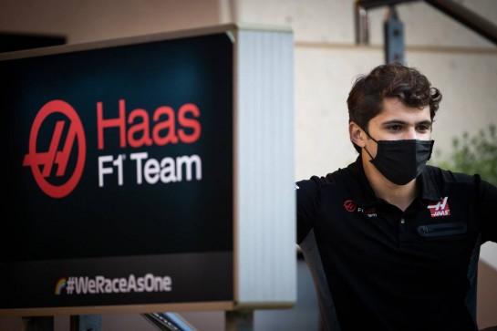 Pietro Fittipaldi (BRA) Haas F1 Team. 03.12.2020. Formula 1 World Championship, Rd 16, Sakhir Grand Prix, Sakhir, Bahrain, Preparation Day. - www.xpbimages.com, EMail: requests@xpbimages.com © Copyright: Bearne / XPB Images