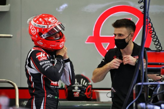 Pietro Fittipaldi (BRA) Haas F1 Team. 03.12.2020. Formula 1 World Championship, Rd 16, Sakhir Grand Prix, Sakhir, Bahrain, Preparation Day. - www.xpbimages.com, EMail: requests@xpbimages.com © Copyright: Batchelor / XPB Images