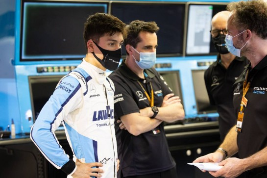 Jack Aitken (GBR) / (KOR) Williams Racing. 03.12.2020. Formula 1 World Championship, Rd 16, Sakhir Grand Prix, Sakhir, Bahrain, Preparation Day. - www.xpbimages.com, EMail: requests@xpbimages.com © Copyright: Bearne / XPB Images