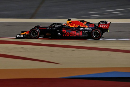 Max Verstappen (NLD) Red Bull Racing RB16.