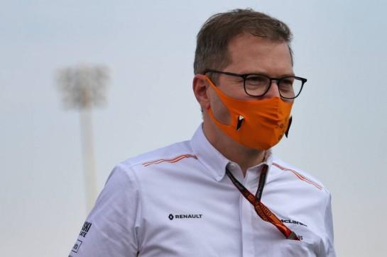 Andreas Seidl, McLaren Managing Director. 05.12.2020. Formula 1 World Championship, Rd 16, Sakhir Grand Prix, Sakhir, Bahrain, Qualifying Day. - www.xpbimages.com, EMail: requests@xpbimages.com © Copyright: Batchelor / XPB Images