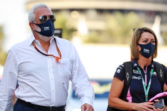 Lawrence Stroll (CDN) Racing Point F1 Team Investor. 05.12.2020. Formula 1 World Championship, Rd 16, Sakhir Grand Prix, Sakhir, Bahrain, Qualifying Day. - www.xpbimages.com, EMail: requests@xpbimages.com © Copyright: Bearne / XPB Images
