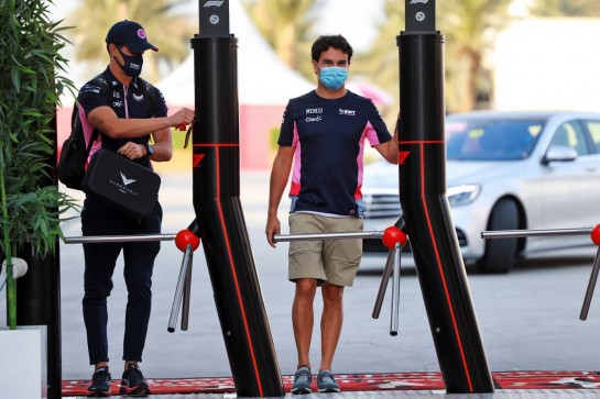 Sergio Perez (MEX) Racing Point F1 Team. 05.12.2020. Formula 1 World Championship, Rd 16, Sakhir Grand Prix, Sakhir, Bahrain, Qualifying Day. - www.xpbimages.com, EMail: requests@xpbimages.com © Copyright: Bearne / XPB Images