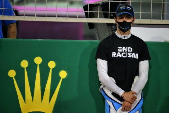 Jack Aitken (GBR) / (KOR) Williams Racing on the grid. 06.12.2020. Formula 1 World Championship, Rd 16, Sakhir Grand Prix, Sakhir, Bahrain, Race Day. - www.xpbimages.com, EMail: requests@xpbimages.com © Copyright: Batchelor / XPB Images