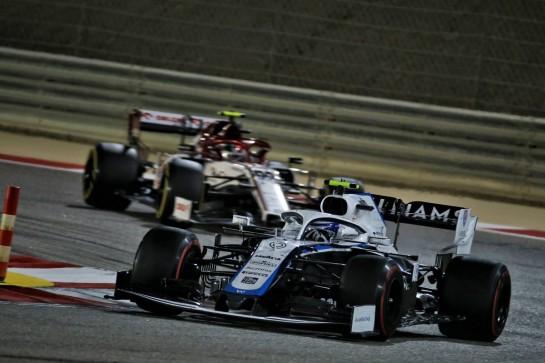 Nicholas Latifi (CDN) Williams Racing FW43. 06.12.2020. Formula 1 World Championship, Rd 16, Sakhir Grand Prix, Sakhir, Bahrain, Race Day. - www.xpbimages.com, EMail: requests@xpbimages.com © Copyright: Batchelor / XPB Images