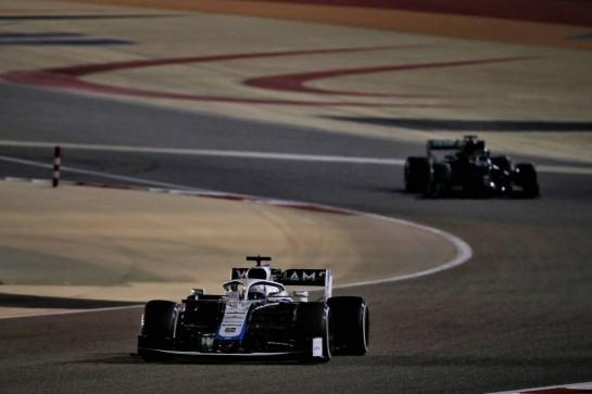 Jack Aitken (GBR) / (KOR) Williams Racing FW43. 06.12.2020. Formula 1 World Championship, Rd 16, Sakhir Grand Prix, Sakhir, Bahrain, Race Day. - www.xpbimages.com, EMail: requests@xpbimages.com © Copyright: Batchelor / XPB Images