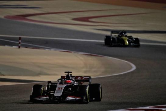 Pietro Fittipaldi (BRA) Haas VF-19. 06.12.2020. Formula 1 World Championship, Rd 16, Sakhir Grand Prix, Sakhir, Bahrain, Race Day. - www.xpbimages.com, EMail: requests@xpbimages.com © Copyright: Batchelor / XPB Images