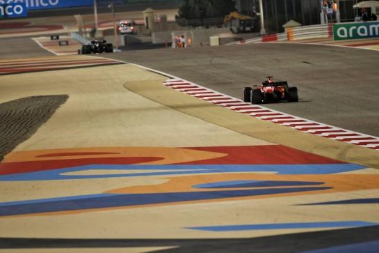 Sebastian Vettel (GER) Ferrari SF1000. 06.12.2020. Formula 1 World Championship, Rd 16, Sakhir Grand Prix, Sakhir, Bahrain, Race Day. - www.xpbimages.com, EMail: requests@xpbimages.com © Copyright: Batchelor / XPB Images
