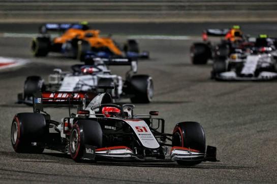 Pietro Fittipaldi (BRA) Haas VF-19. 06.12.2020. Formula 1 World Championship, Rd 16, Sakhir Grand Prix, Sakhir, Bahrain, Race Day. - www.xpbimages.com, EMail: requests@xpbimages.com © Copyright: Moy / XPB Images