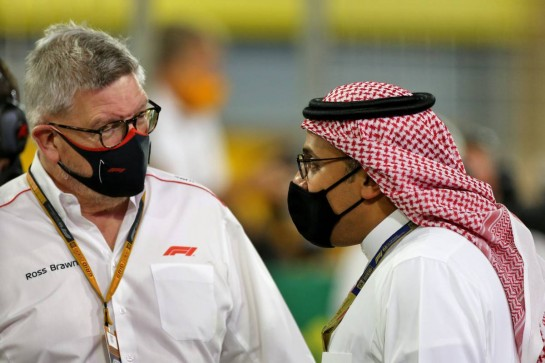 Ross Brawn (GBR) Managing Director, Motor Sports on the grid. 06.12.2020. Formula 1 World Championship, Rd 16, Sakhir Grand Prix, Sakhir, Bahrain, Race Day. - www.xpbimages.com, EMail: requests@xpbimages.com © Copyright: Moy / XPB Images