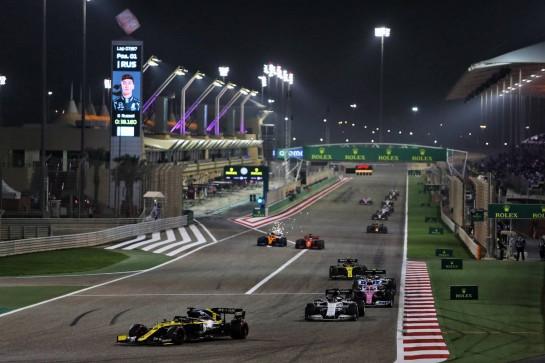 Daniel Ricciardo (AUS) Renault F1 Team RS20. 06.12.2020. Formula 1 World Championship, Rd 16, Sakhir Grand Prix, Sakhir, Bahrain, Race Day. - www.xpbimages.com, EMail: requests@xpbimages.com © Copyright: Moy / XPB Images
