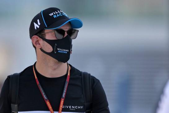 Nicholas Latifi (CDN) Williams Racing. 10.12.2020. Formula 1 World Championship, Rd 17, Abu Dhabi Grand Prix, Yas Marina Circuit, Abu Dhabi, Preparation Day. - www.xpbimages.com, EMail: requests@xpbimages.com © Copyright: Moy / XPB Images