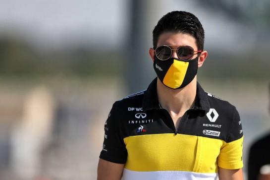 Esteban Ocon (FRA) Renault F1 Team. 10.12.2020. Formula 1 World Championship, Rd 17, Abu Dhabi Grand Prix, Yas Marina Circuit, Abu Dhabi, Preparation Day. - www.xpbimages.com, EMail: requests@xpbimages.com © Copyright: Moy / XPB Images