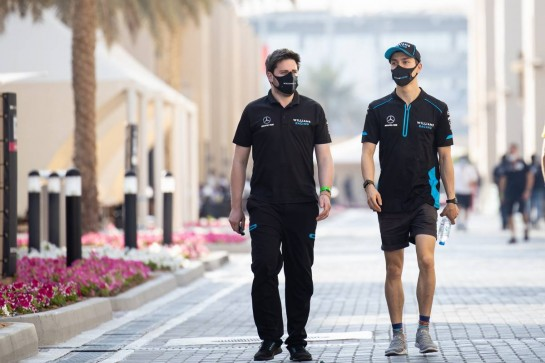 Jack Aitken (GBR) / (KOR) Williams Racing. 10.12.2020. Formula 1 World Championship, Rd 17, Abu Dhabi Grand Prix, Yas Marina Circuit, Abu Dhabi, Preparation Day. - www.xpbimages.com, EMail: requests@xpbimages.com © Copyright: Bearne / XPB Images