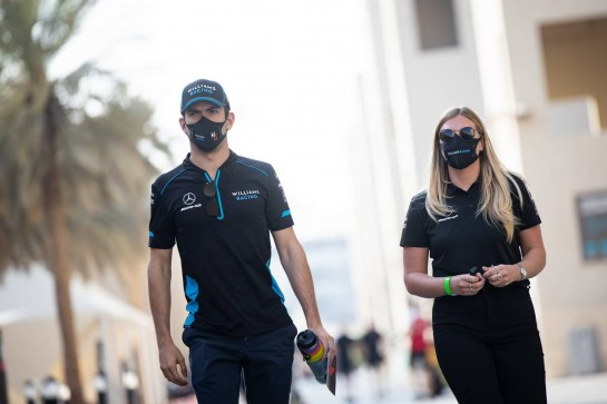Nicholas Latifi (CDN) Williams Racing. 10.12.2020. Formula 1 World Championship, Rd 17, Abu Dhabi Grand Prix, Yas Marina Circuit, Abu Dhabi, Preparation Day. - www.xpbimages.com, EMail: requests@xpbimages.com © Copyright: Bearne / XPB Images
