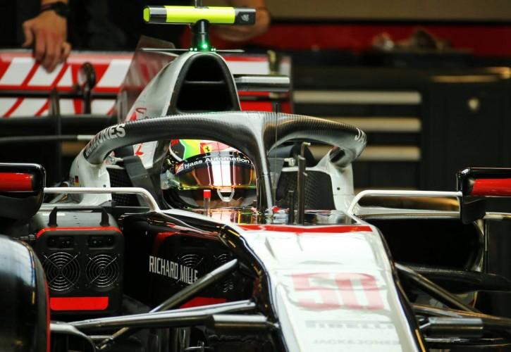 Mick Schumacher (GER) Alfa Romeo Racing C39 Test Driver.