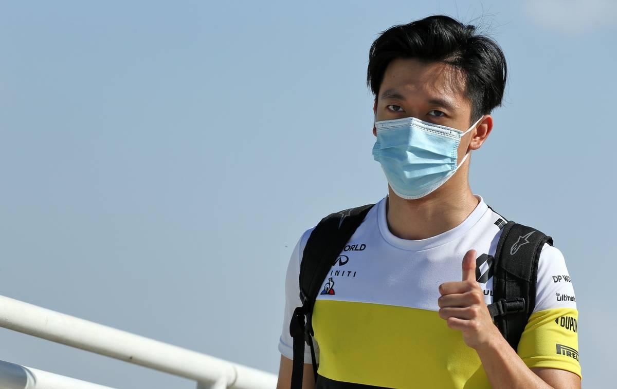 Guanyu Zhou (CHN) Renault F1 Team Test Driver.
