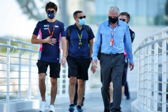 Professor Steve Peters (GBR) Consultant Psychiatrist.  11.12.2020. Formula 1 World Championship, Rd 17, Abu Dhabi Grand Prix, Yas Marina Circuit, Abu Dhabi, Practice Day. - www.xpbimages.com, EMail: requests@xpbimages.com © Copyright: Batchelor / XPB Images
