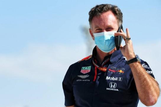 Christian Horner (GBR) Red Bull Racing Team Principal. 11.12.2020. Formula 1 World Championship, Rd 17, Abu Dhabi Grand Prix, Yas Marina Circuit, Abu Dhabi, Practice Day. - www.xpbimages.com, EMail: requests@xpbimages.com © Copyright: Batchelor / XPB Images