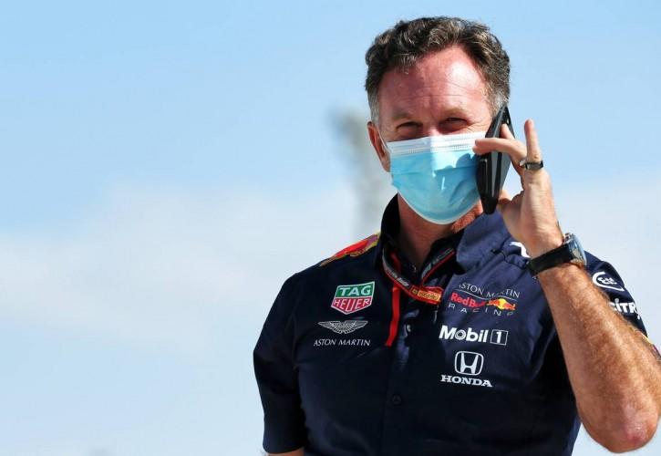 Christian Horner (GBR) Red Bull Racing Team Principal. 11.12.2020. Formula 1 World Championship, Rd 17, Abu Dhabi Grand Prix, Yas Marina Circuit, Abu Dhabi, Practice Day.