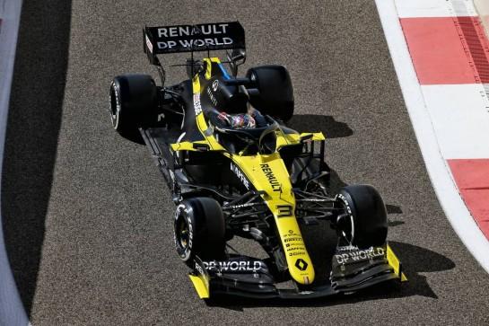 Daniel Ricciardo (AUS) Renault F1 Team RS20. 11.12.2020. Formula 1 World Championship, Rd 17, Abu Dhabi Grand Prix, Yas Marina Circuit, Abu Dhabi, Practice Day. - www.xpbimages.com, EMail: requests@xpbimages.com © Copyright: Batchelor / XPB Images