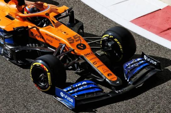 Carlos Sainz Jr (ESP) McLaren MCL35. 11.12.2020. Formula 1 World Championship, Rd 17, Abu Dhabi Grand Prix, Yas Marina Circuit, Abu Dhabi, Practice Day. - www.xpbimages.com, EMail: requests@xpbimages.com © Copyright: Batchelor / XPB Images