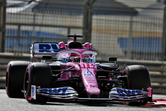 Sergio Perez (MEX) Racing Point F1 Team RP19. 11.12.2020. Formula 1 World Championship, Rd 17, Abu Dhabi Grand Prix, Yas Marina Circuit, Abu Dhabi, Practice Day. - www.xpbimages.com, EMail: requests@xpbimages.com © Copyright: Moy / XPB Images