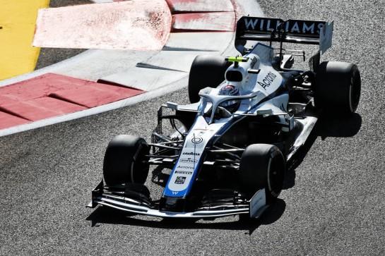 Nicholas Latifi (CDN) Williams Racing FW43. 11.12.2020. Formula 1 World Championship, Rd 17, Abu Dhabi Grand Prix, Yas Marina Circuit, Abu Dhabi, Practice Day. - www.xpbimages.com, EMail: requests@xpbimages.com © Copyright: Moy / XPB Images