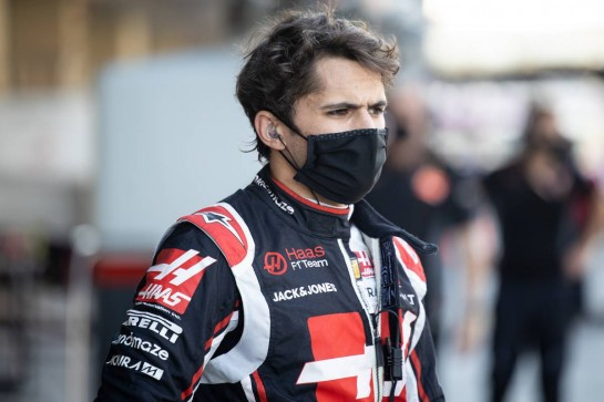 Pietro Fittipaldi (BRA) Haas F1 Team. 11.12.2020. Formula 1 World Championship, Rd 17, Abu Dhabi Grand Prix, Yas Marina Circuit, Abu Dhabi, Practice Day. - www.xpbimages.com, EMail: requests@xpbimages.com © Copyright: Bearne / XPB Images