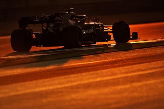 Lewis Hamilton (GBR) Mercedes AMG F1 W11. 11.12.2020. Formula 1 World Championship, Rd 17, Abu Dhabi Grand Prix, Yas Marina Circuit, Abu Dhabi, Practice Day. - www.xpbimages.com, EMail: requests@xpbimages.com © Copyright: Moy / XPB Images