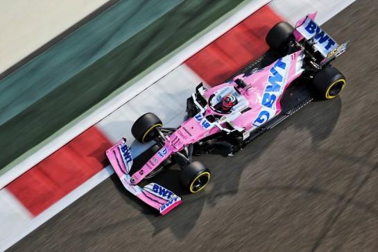 Sergio Perez (MEX) Racing Point F1 Team RP19. 11.12.2020. Formula 1 World Championship, Rd 17, Abu Dhabi Grand Prix, Yas Marina Circuit, Abu Dhabi, Practice Day. - www.xpbimages.com, EMail: requests@xpbimages.com © Copyright: Charniaux / XPB Images