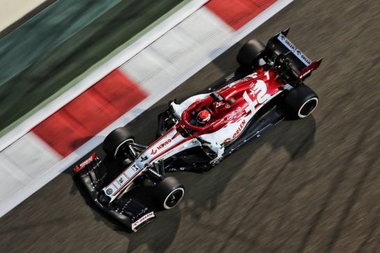 Kimi Raikkonen (FIN) Alfa Romeo Racing C39. 11.12.2020. Formula 1 World Championship, Rd 17, Abu Dhabi Grand Prix, Yas Marina Circuit, Abu Dhabi, Practice Day. - www.xpbimages.com, EMail: requests@xpbimages.com © Copyright: Charniaux / XPB Images
