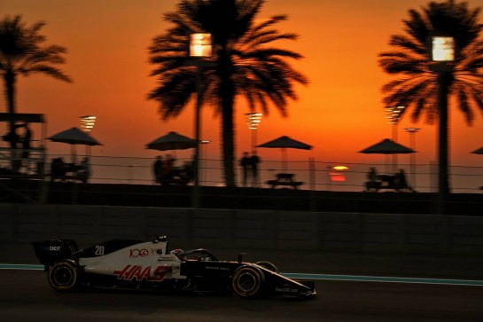 Kevin Magnussen (DEN) Haas VF-20. 11.12.2020. Formula 1 World Championship, Rd 17, Abu Dhabi Grand Prix, Yas Marina Circuit, Abu Dhabi, Practice Day. - www.xpbimages.com, EMail: requests@xpbimages.com © Copyright: Batchelor / XPB Images