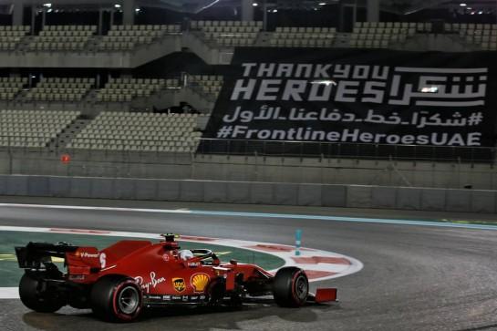 Charles Leclerc (MON) Ferrari SF1000. 11.12.2020. Formula 1 World Championship, Rd 17, Abu Dhabi Grand Prix, Yas Marina Circuit, Abu Dhabi, Practice Day. - www.xpbimages.com, EMail: requests@xpbimages.com © Copyright: Batchelor / XPB Images