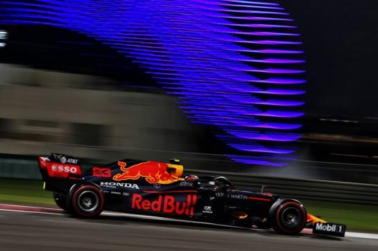 Alexander Albon (THA) Red Bull Racing RB16. 11.12.2020. Formula 1 World Championship, Rd 17, Abu Dhabi Grand Prix, Yas Marina Circuit, Abu Dhabi, Practice Day. - www.xpbimages.com, EMail: requests@xpbimages.com © Copyright: Moy / XPB Images