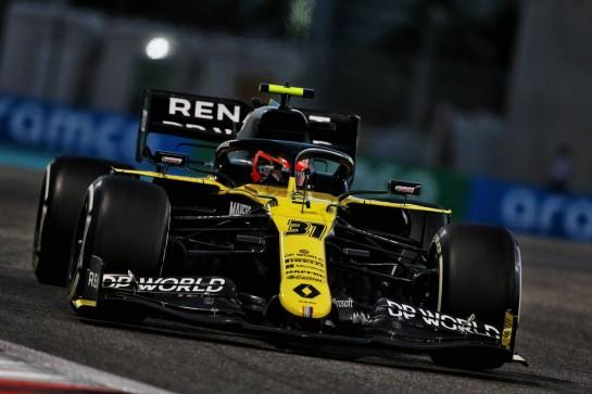 Esteban Ocon (FRA) Renault F1 Team RS20. 11.12.2020. Formula 1 World Championship, Rd 17, Abu Dhabi Grand Prix, Yas Marina Circuit, Abu Dhabi, Practice Day. - www.xpbimages.com, EMail: requests@xpbimages.com © Copyright: Moy / XPB Images