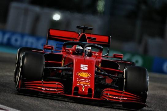 Sebastian Vettel (GER) Ferrari SF1000. 11.12.2020. Formula 1 World Championship, Rd 17, Abu Dhabi Grand Prix, Yas Marina Circuit, Abu Dhabi, Practice Day. - www.xpbimages.com, EMail: requests@xpbimages.com © Copyright: Moy / XPB Images